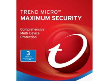 TREND MICRO Maximum Security 3 Devices | 1 Year - Digital Licence